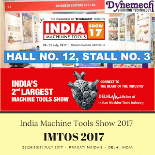 DYNEMECH SYSTEMS @ IMTOS - Indian Machine Tools Show 2017 (from 28-31 July 2017) Pragati Maidan, Delhi