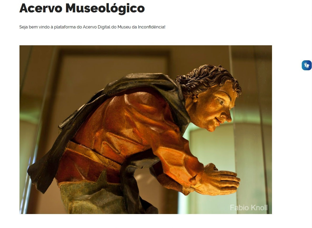 Acervo virtual do Museu da Inconfidência