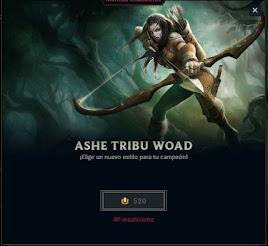 skin de ashe tribu woad