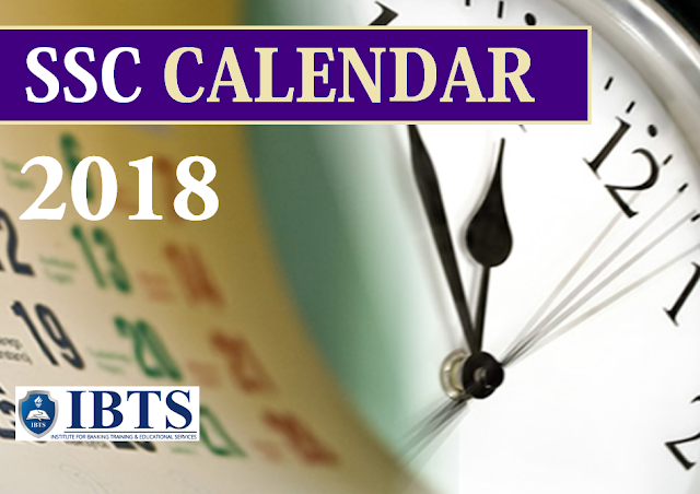 SSC Calendar 2018: Result Dates Announced