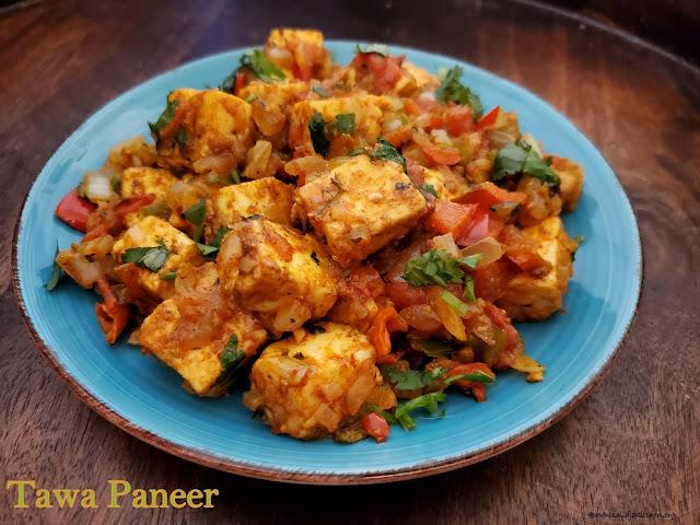 images of Tawa Paneer Recipe / Paneer Tawa Masala Recipe / Paneer Tawa Fry - Paneer Recipes