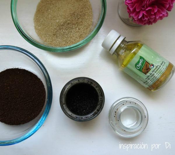 como hacer scrub cafe azucar