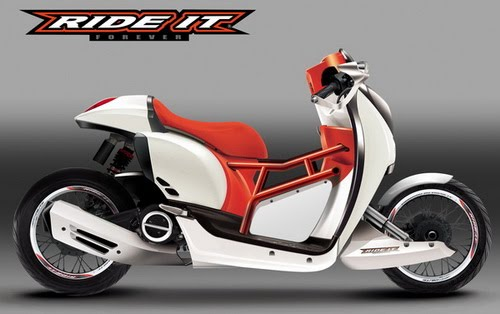 Photo Modifikasi Motor Honda Scoopy