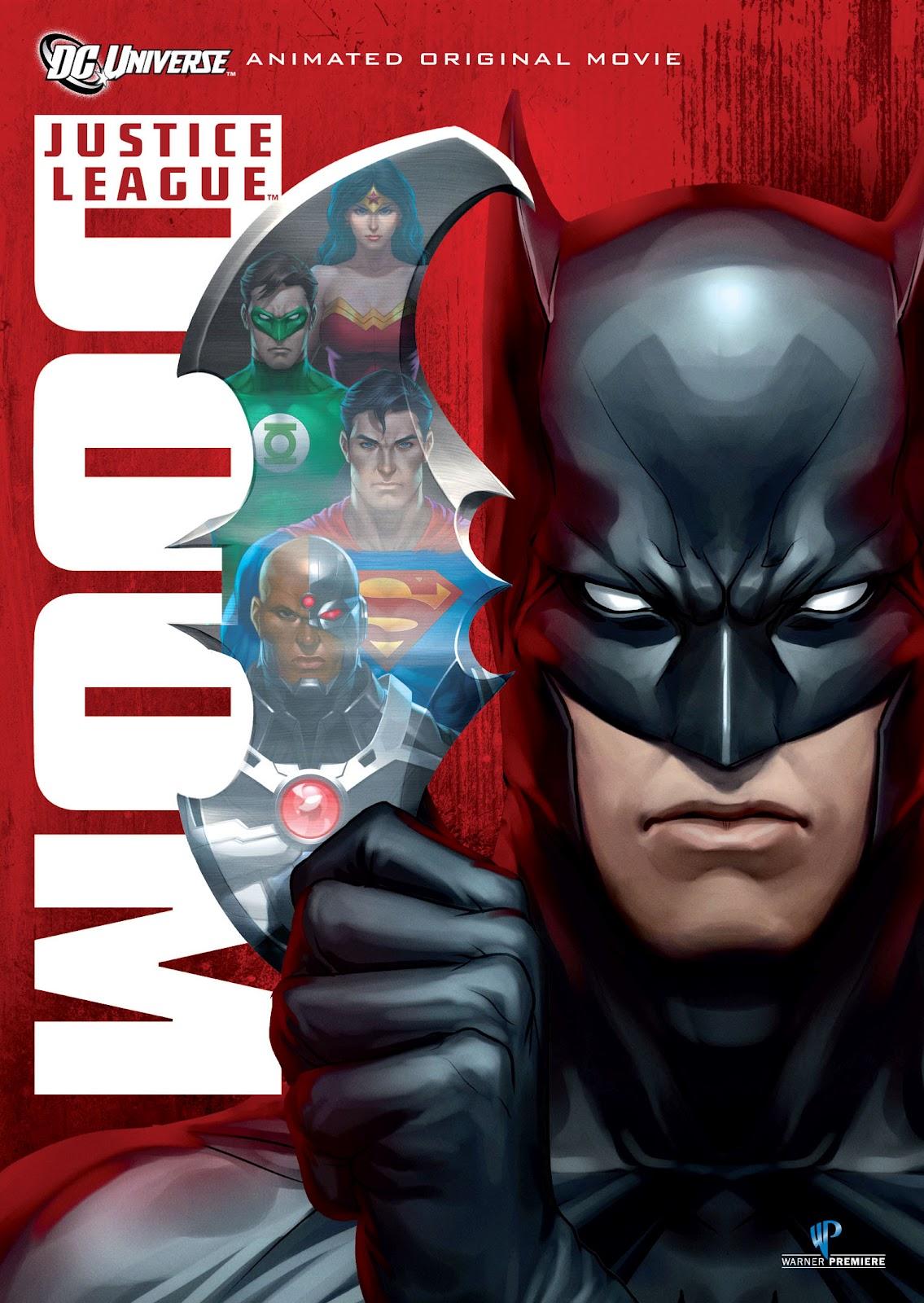 Aesthetica Of A Rogue Hero Ita dvd review - justice league: doom