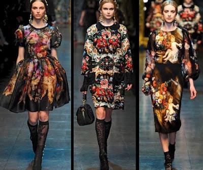Designer Dupes: Dolce and Gabbana Fall 2012 Floral Dress