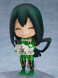 Nendoroid Tsuyu Asui de My Hero Academia - Good Smile Company