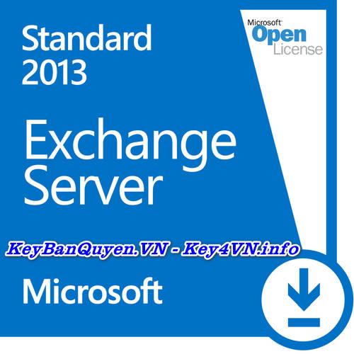 Key Bản Quyền Exchange Server 2013 Standard Uy Tín Giá Rẻ.