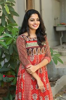 Telugu Actress Nikhila Vimal Latest Stills in Anarkali Dress  0151.JPG