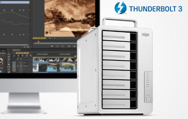 DAS TerraMaster D8 Thunderbolt 3