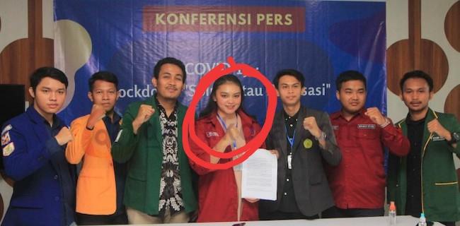 Jejak Digital Ginka, Mahasiswi yang Protes Anies Ini Pernah Demo Capres Prabowo