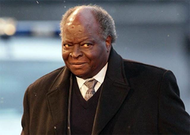 Former Kenya President Mwai Kibaki news photo