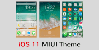 Tema IOS 11 Pro