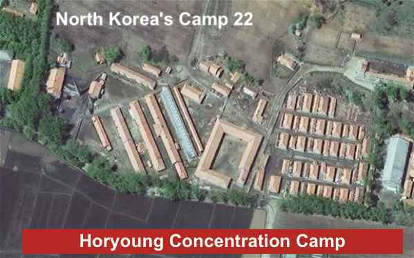 North Korea's Camp 22, Horyoung Concentration Camp, North Korean prison camp