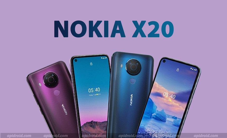 nokia x20 smartphone