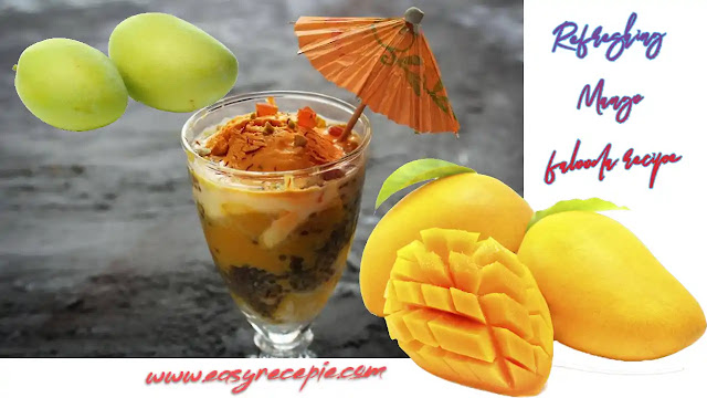 Delicious and refreshing mango falooda recipe at home in summer