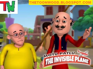 Motu Patlu: The Invisible Plane HINDI Full Movie [720p,HD]