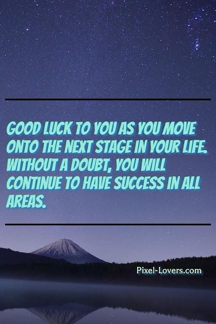 good luck messages