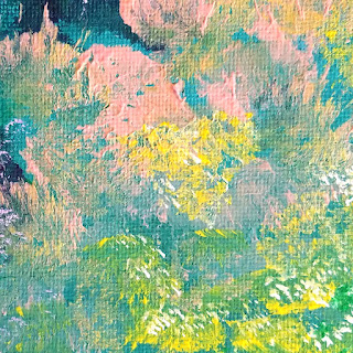 Detail from an original painting by Kim Breeding-Mercer