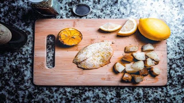 Fiskfile kokt i foliepaket klassiskt recept