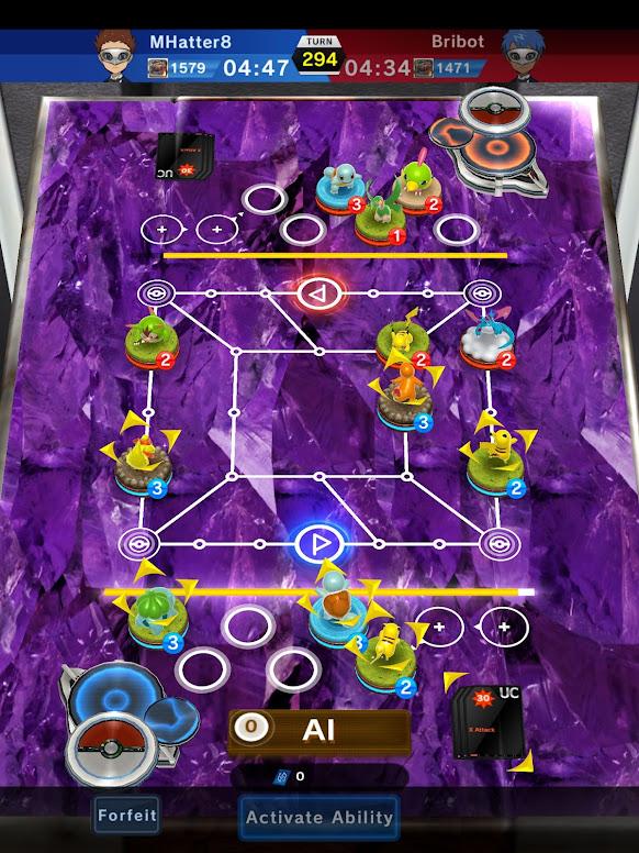 Pokémon Duel - Mecânica de Batalhas