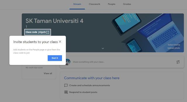 Panduan Lengkap Guna Google Classroom