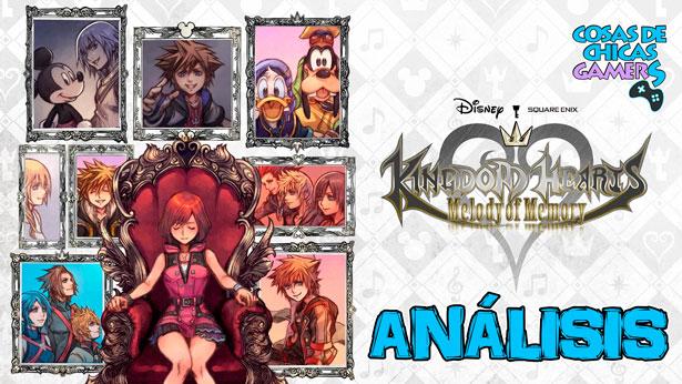 Análisis de Kingdom Hearts Melody of Memory para PS4