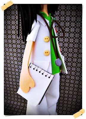 enfermera goma eva
