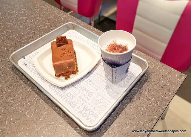 IMG Worlds of Adventure lotus cake