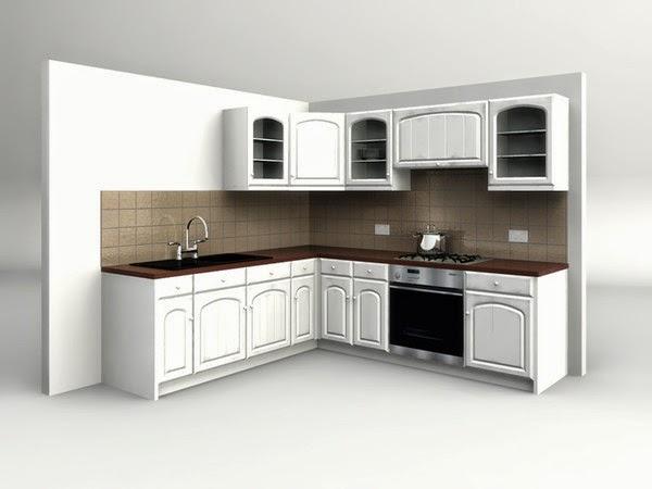 Foundation Dezin & Decor...: Kitchen 3D Model. on Kitchen Model Images  id=38634