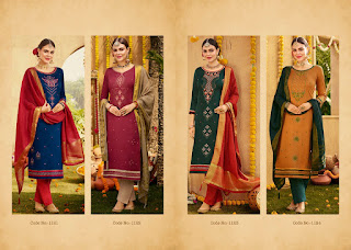 Kalarang Amrut Vol 5 Jam Silk  Salwar Kameez Collection