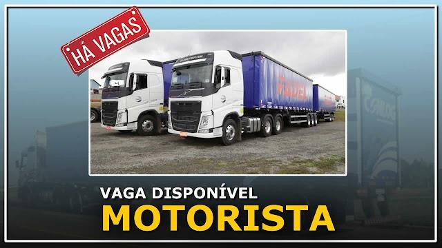 Fadel Transportes abre vaga para Motorista Distribuição categoria D