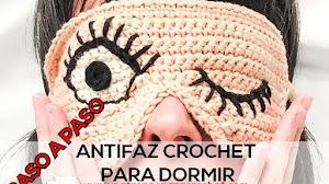 Cómo Tejer un  Antifaz Crochet | Paso a Paso