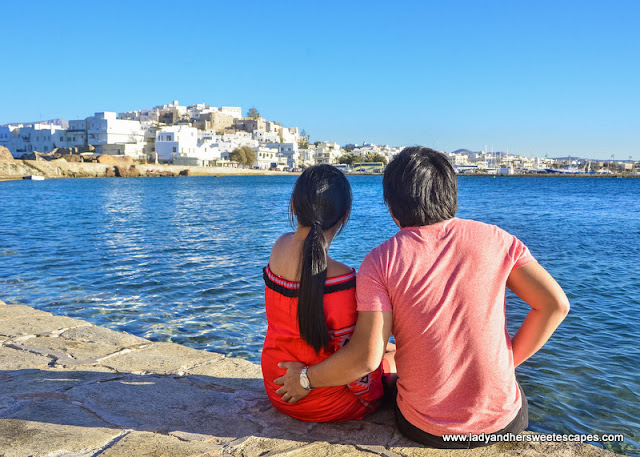 Ed and Lady in Naxos