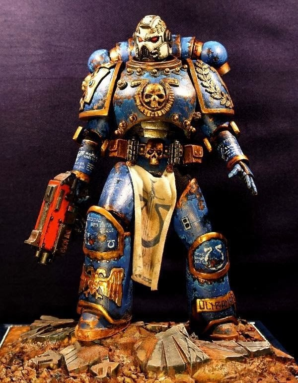 Ultramarines Veteran by hors