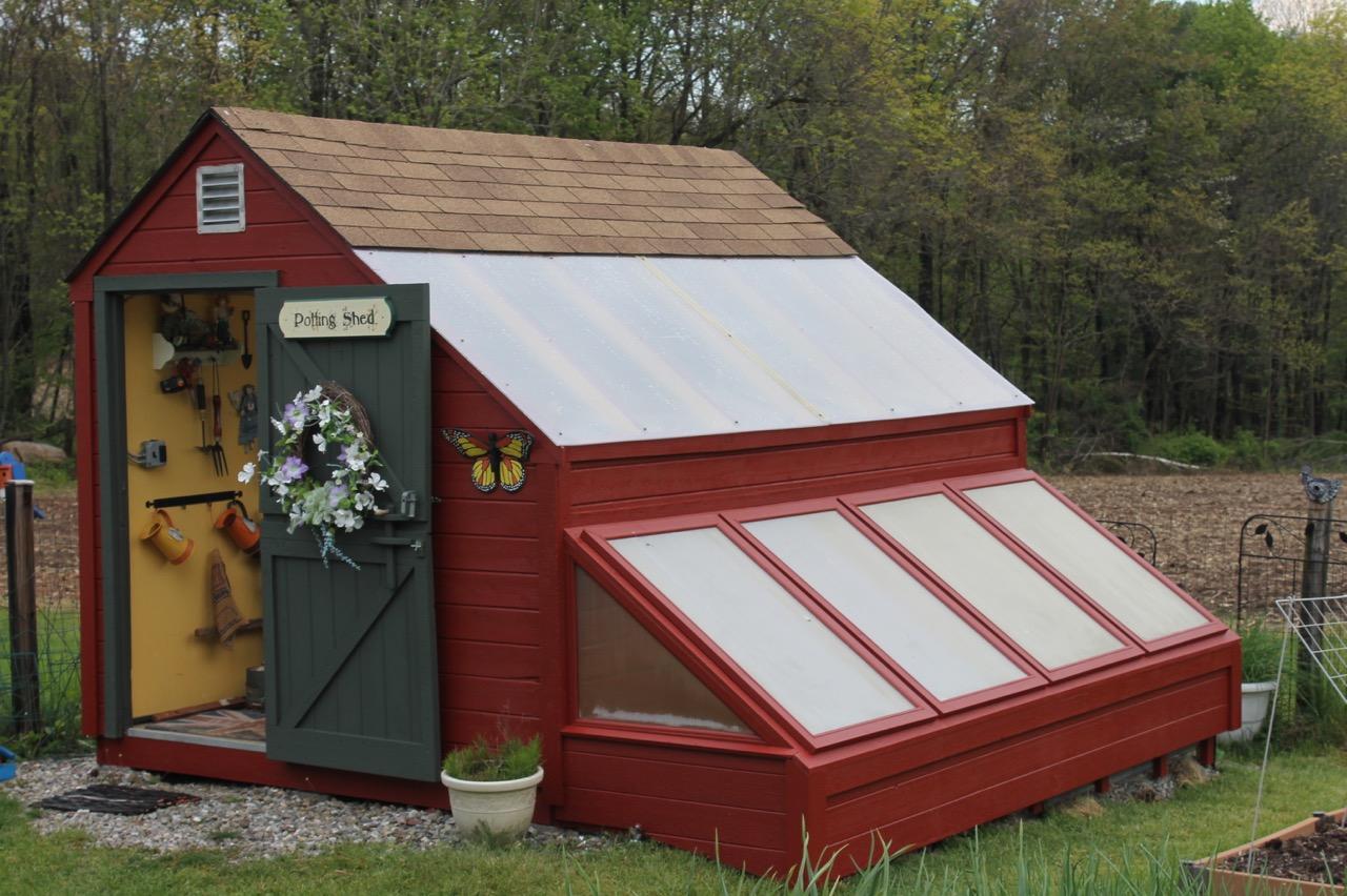 Pam\'s English Cottage Garden: Cold Frame Gardening
