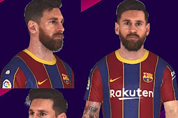 Lionel Messi New Face + Tattoo - PES 2017