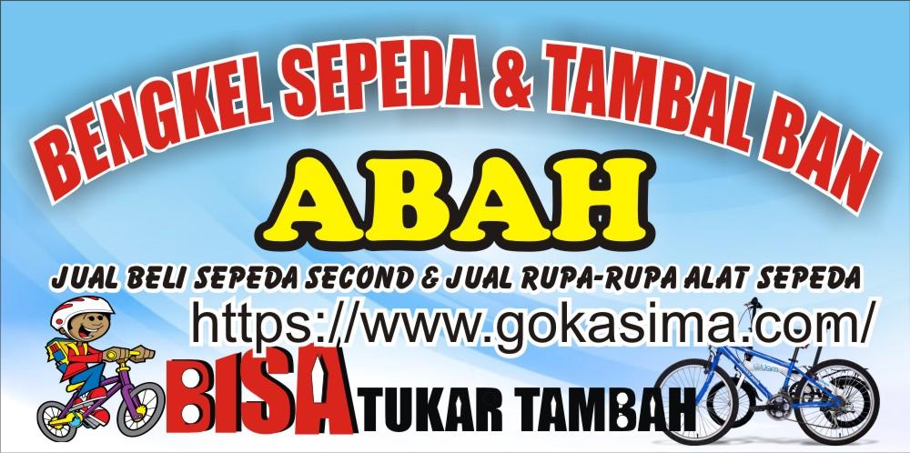 Download Contoh Spanduk Bengkel Sepeda CDR - KARYAKU