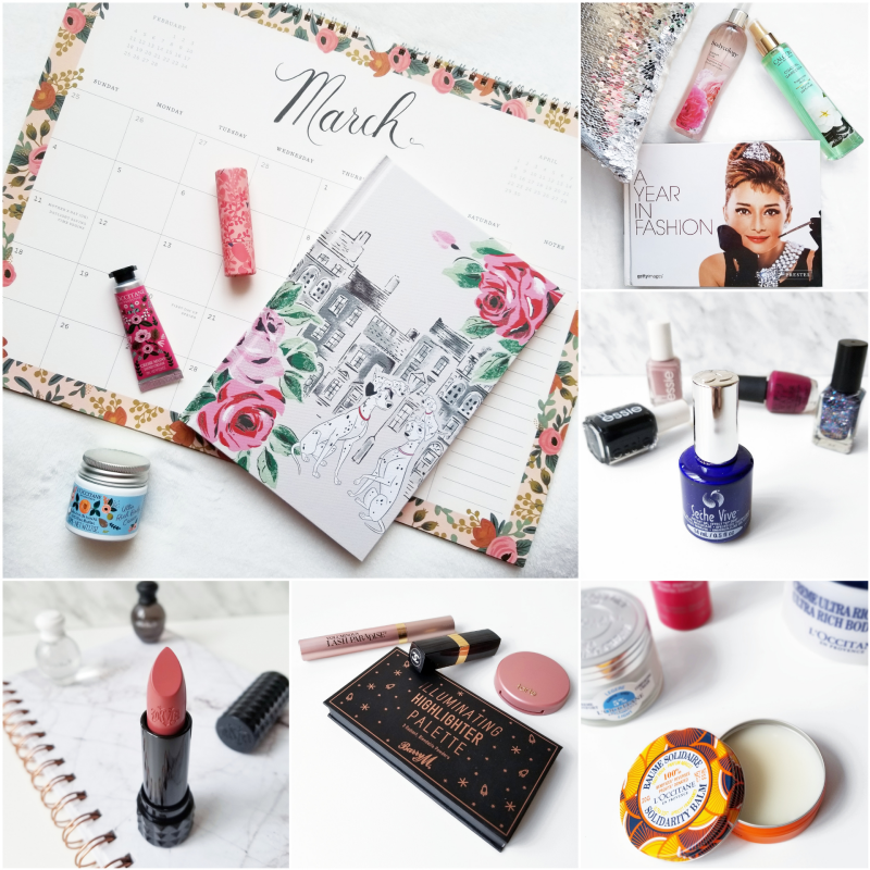 bbloggers, bbloggerca, canadian beauty blog, beauty blog, instagram, roundup, instamonth, beauty, style, makeup, skincare, lifestyle, rife paper co., calendar, l'occitane, calgon, bodycology, seche vive, solidarity balm, barry m cosmetics, highlighter, palette, chanel, boy, tarte, paaarty, kat von d, og lolita,