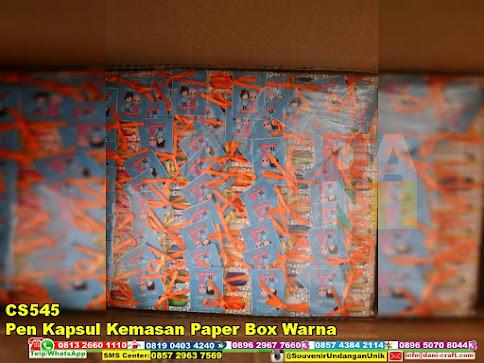 jual Pen Kapsul Kemasan Paper Box Warna
