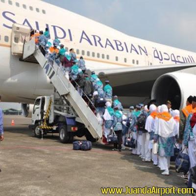 Permintaan Meningkat, Saudi Airlines Tambah Penerbangan dari Bandara Juanda