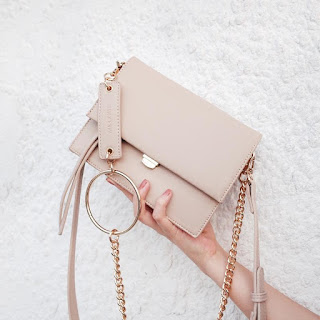 Square Handbags Flap Chain Bag