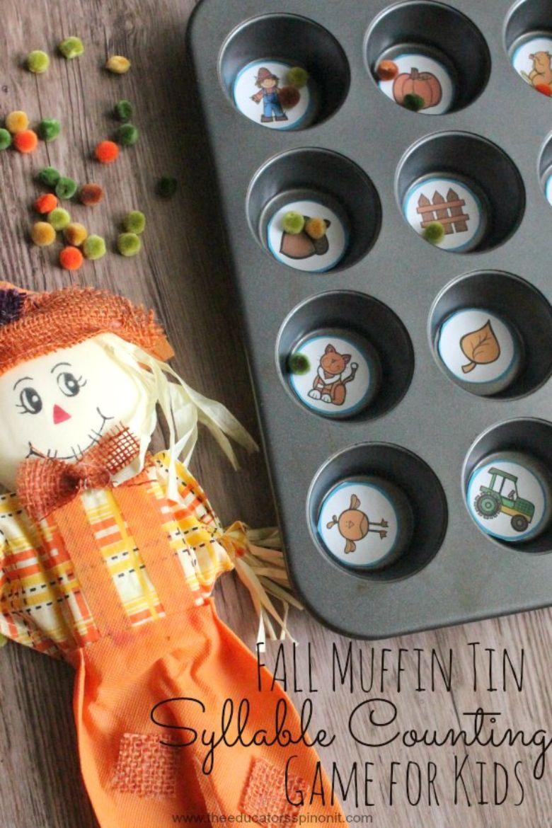 Learning autumn activity for kids