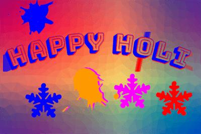 happy holi unique images
