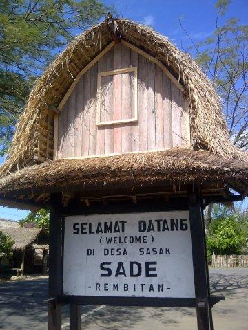 Saya dan Arsitektur Arsitektur Nusantara Rumah Sasak Sade