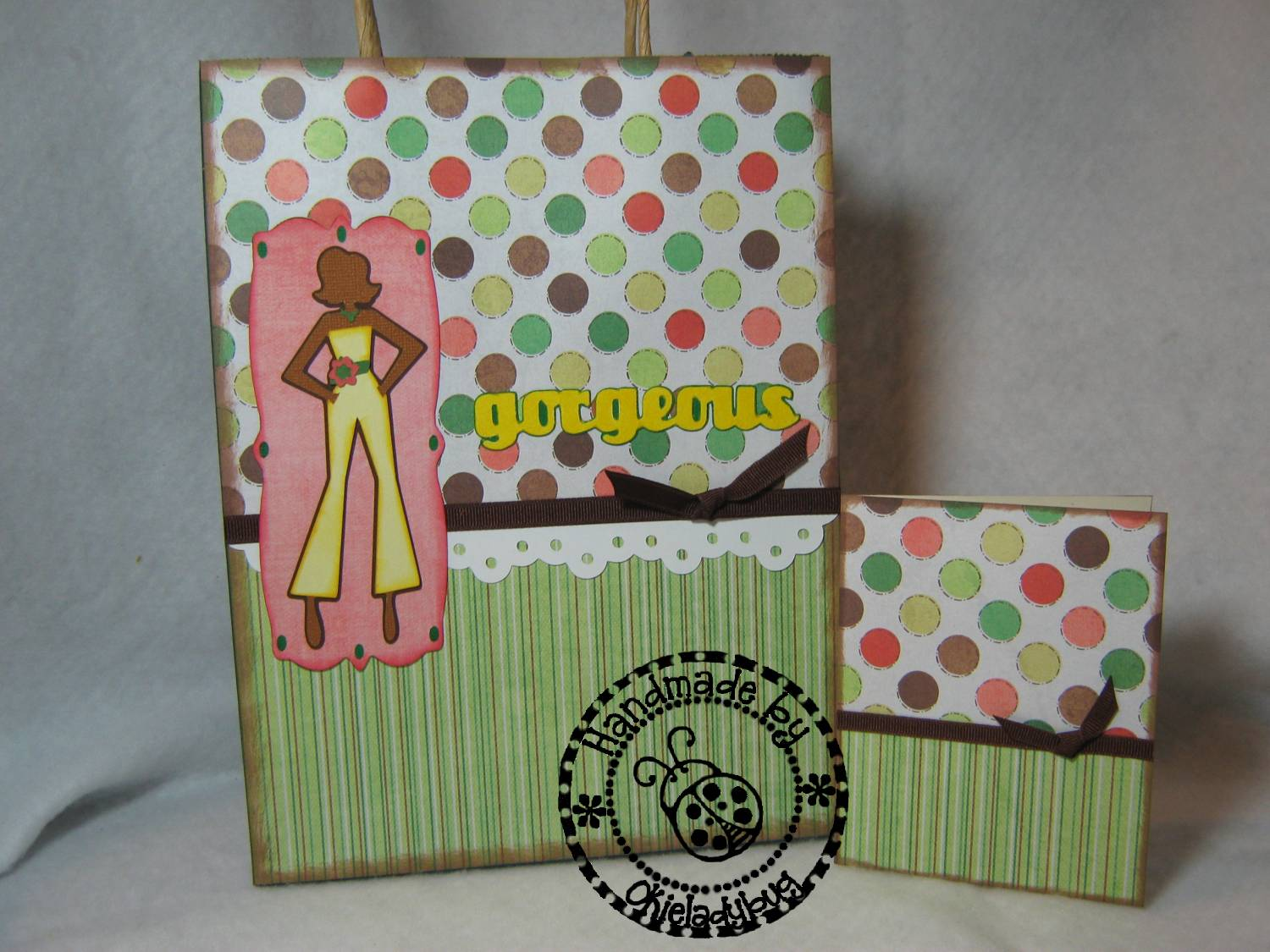 Okieladybug S Scrap N More Forever Young Giftbag Gorgeous