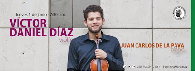 VICTOR DANIEL DÍAZ, violín