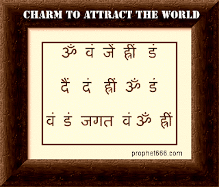 Indian Occult Charm to attract whole World
