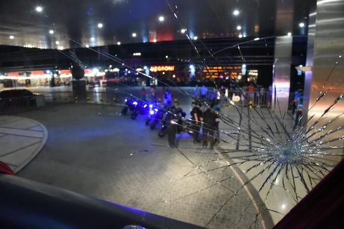 Ônibus do Santos é apedrejado após empate com o Boca na Bombonera