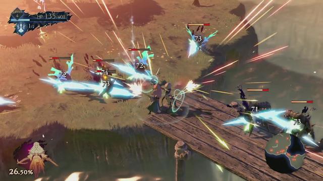 Oninaki gunfire Square Enix E3 2019