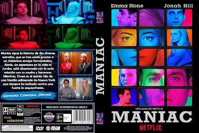 CARATULA MANIAC - TEMPORADA 1 - 2018 [COVER DVD]